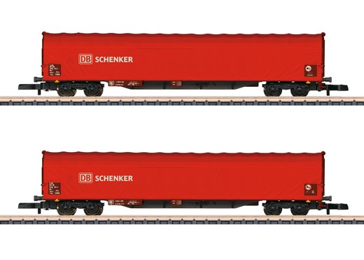 Märklin 82426 - Schiebeplanenwagen-Set DB AG