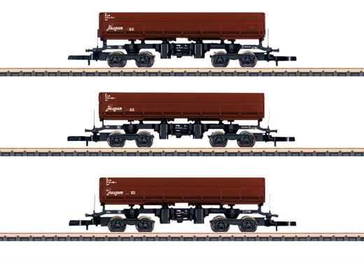Märklin 82436 - Seitenkippwagen-Set DB AG