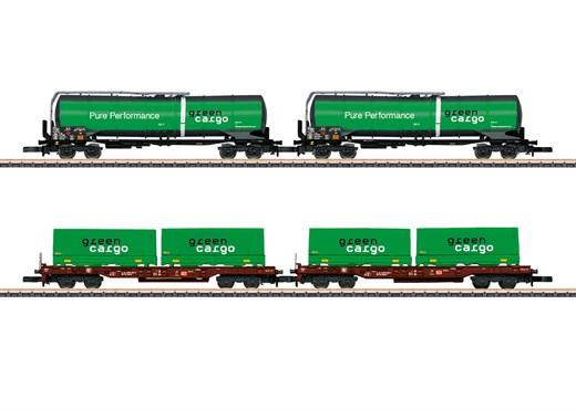 Märklin 82533 - Güterwagen-Set Green Cargo