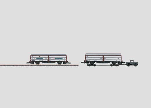 Märklin 82558 - Wagenset Schiebewandwagen