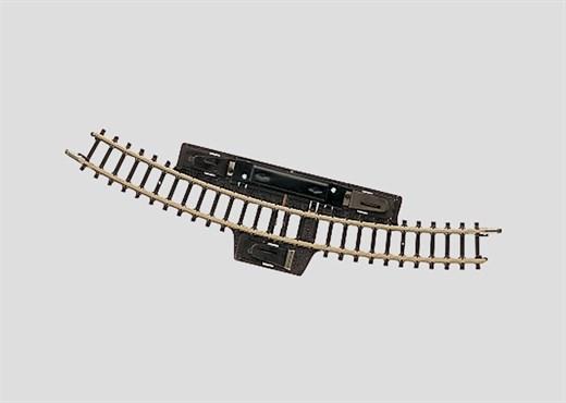 Märklin 8529 - Schaltgleis gebogen, r195mm, 30 Gr.