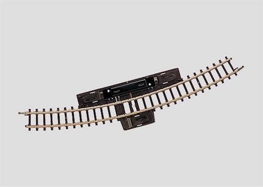 Märklin 8539 - Schaltgleis r220 mm, 30 Gr.