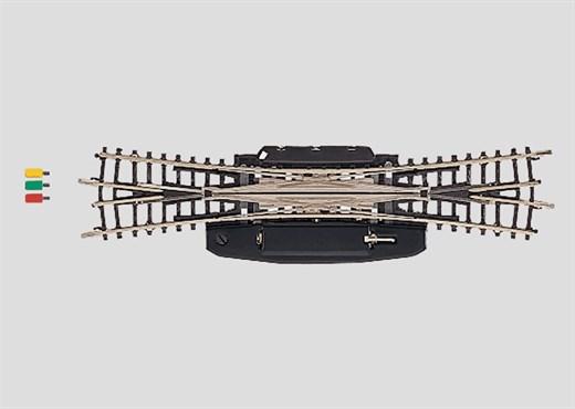 Märklin 8560 - Doppelkreuzungsweiche r323 mm