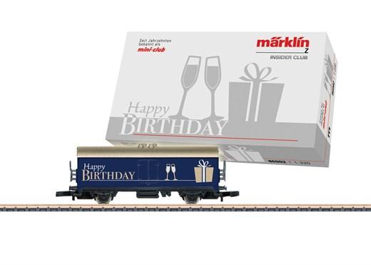 Märklin 86002 - Geburtstagswagen 10 Jahre Insider