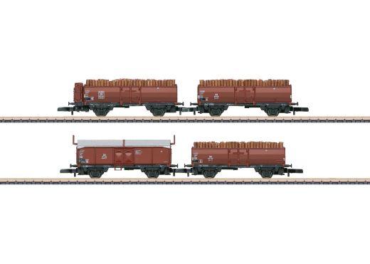 Märklin 86238 - Güterwagenset-Holzverladung