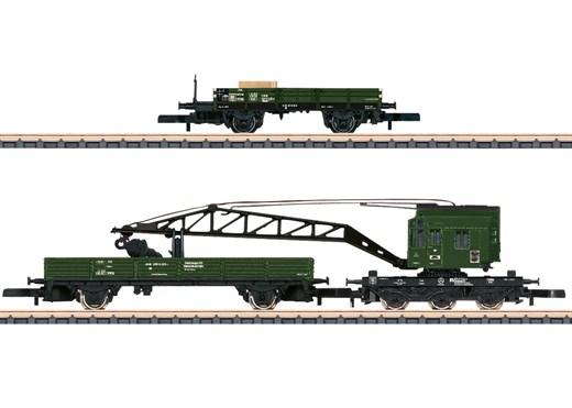 Märklin 86572 - Ergänzungsset Gleisbauzug DB