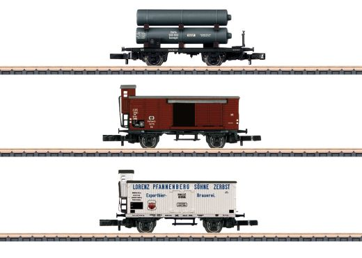 Märklin 86604 - Wagen-Set Gütertransport KPEV