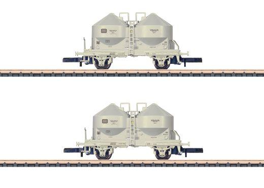 Märklin 86665 - Staubsilowagen-Set