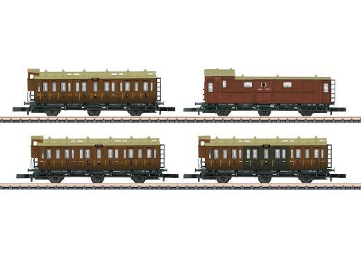 Märklin 87041 - Personenwagenset K.P.E.V., Epoche