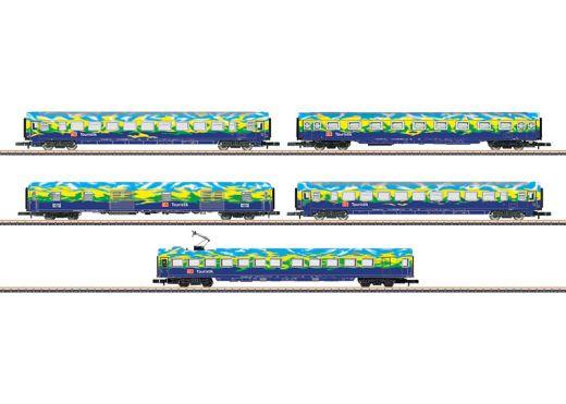 Märklin 87303 - Wagenset Touristikzug DB AG