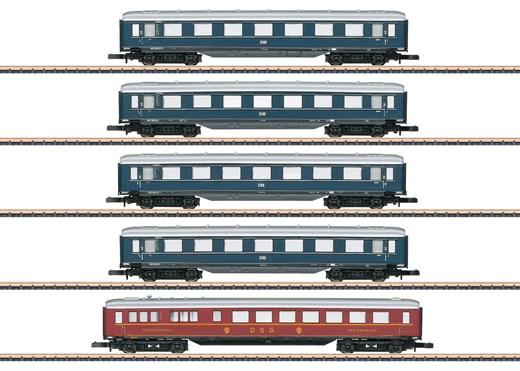 Märklin 87357 - Schnellzugwagen-Set DB