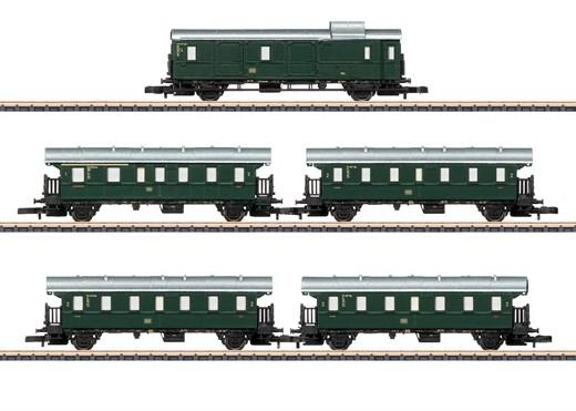 Märklin 87507 - Wagenset Höllentalbahn DB