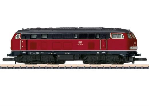 Märklin 88792 - Diesellokomotive Baureihe 218