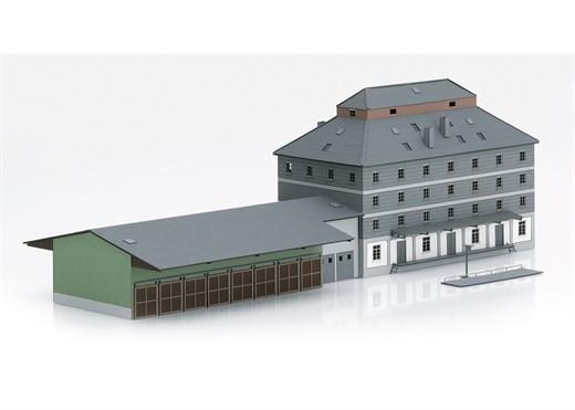Märklin 89705 - Bausatz WLZ-Gebäude m.Markt