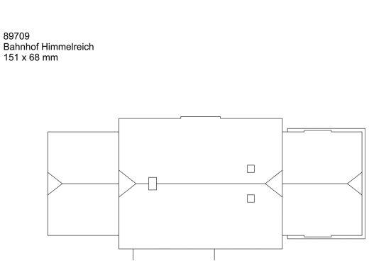 Märklin 89709 - Bausatz Bahnhof Himmelreich