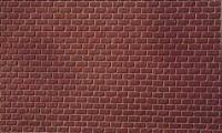 Merkur 308012 - Mauerwerk, Sandstein rot