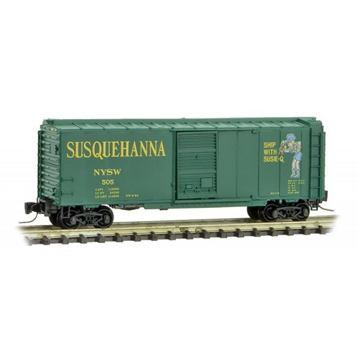 MICRO-TRAINS  500 00 912 New York, Susquhanna & We