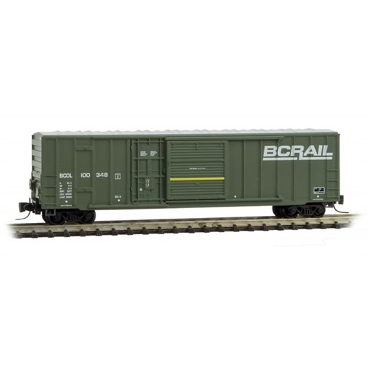 MICRO-TRAINS 512 00 032 BC Rail - Rd#100348- Rel.