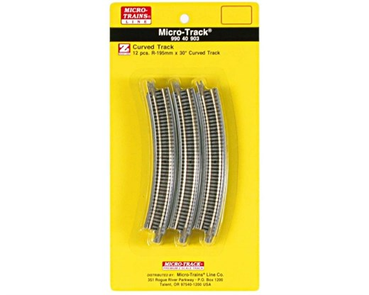 MICRO-TRAINS 990 40 903 - Micro-Track 30° Curved T