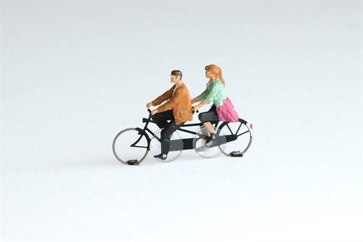 Magnorail KKd-1 - Tandem Fahrrad - Gebrauchsfertig