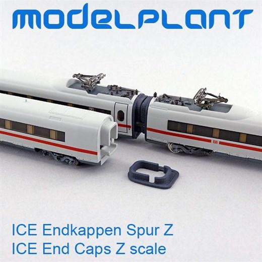 Modelplant M-0401-8 - ICE Endkappen