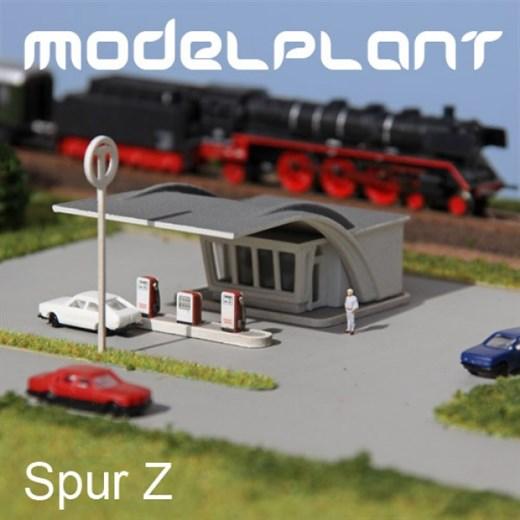 Modelplant M-0516 - Tankstelle