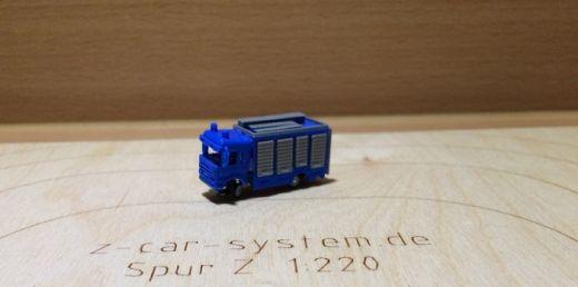 NoBa Modelle - 7006 Scania Rüstwagen THW - blau/gr
