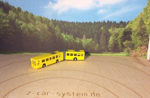 NoBa Modelle - 7151 Gelenkbus, MB O 405 G - gelb