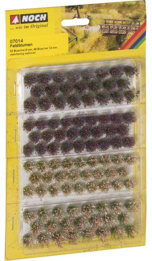 NOCH 07014 - Grasbüschel Wildblumen