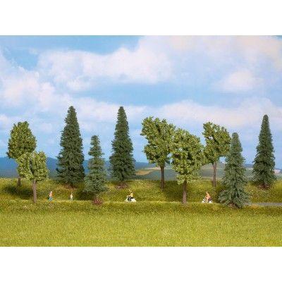 Noch 24230 - Mischwald, 10 Bäume, 4 - 10 c