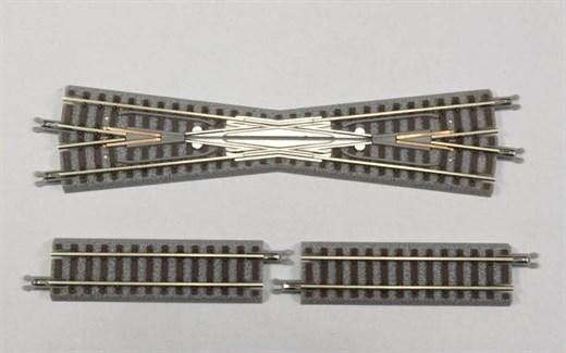 NOCH 7297020 / Rokuhan R020 - Kreuzung 112,8 mm, 1