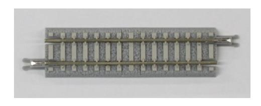 NOCH 7297048 - Gleis gerade, 55 mm, mit Betonschwe