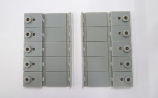 NOCH 7297406 - 1gl. Gleis-&Masten-Basis, 10 Stück