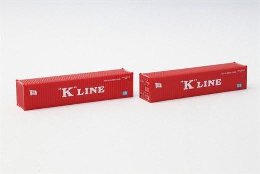 NOCH 7297500 - 40 Übersee Container K-Line