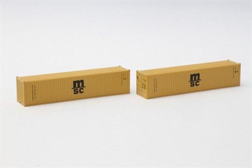 NOCH 7297501 - 40 Übersee Container MSC