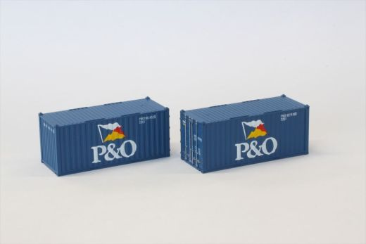 NOCH 7297547 / Rokuhan A108-1 - 20 Container P&O
