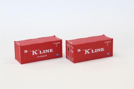 NOCH 7297548 / Rokuhan A108-2 - 20 Container K-Li