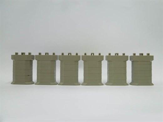 NOCH 7297605 / Rokuhan S018 - Brückenpfeiler-Set,