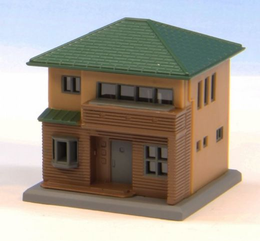 NOCH 7297631 - Zweistöckiges Haus Typ-C braun