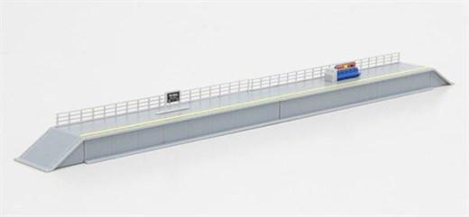NOCH 7297636 / Rokuhan S048-1 - Bahnsteig-Set, ein