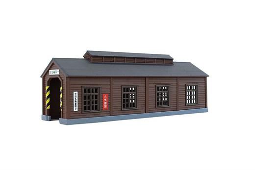 NOCH 7297665 / Rokuhan S051-1 - Holz-Maschinenhaus