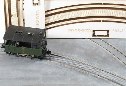 N-tram 9370 - Pflastereinlagen Gerade 110mm