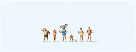 Preiser 88524 - Familie Krause am Strand