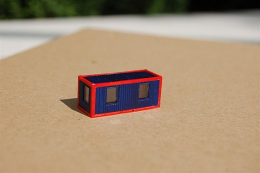 RATIMO 12009 - Wohncontainer, Bausatz in 1:220