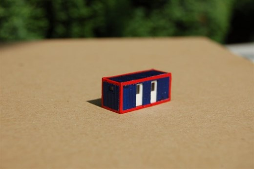 RATIMO 11010 - Toilettencontainer, Bausatz 1:220