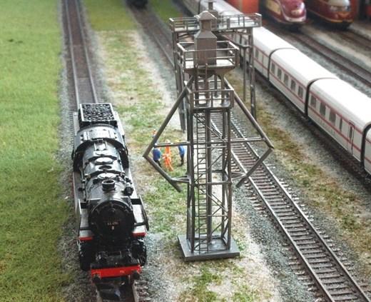 RATIMO 13003 - Besandungsturm für 2 Gleise in 1:22