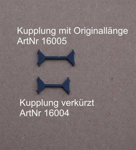 RATIMO 16004 - Kurzkupplung fpr Blauen Enzian,