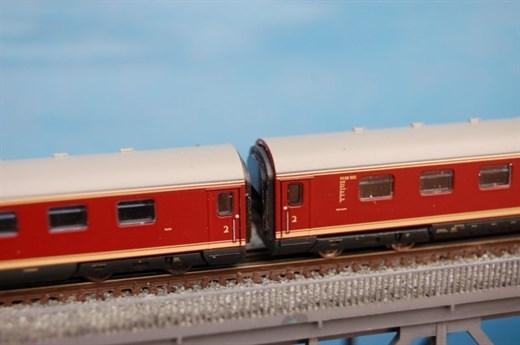 RATIMO 16010 - Kupplung und Wagenübergang für VT 0