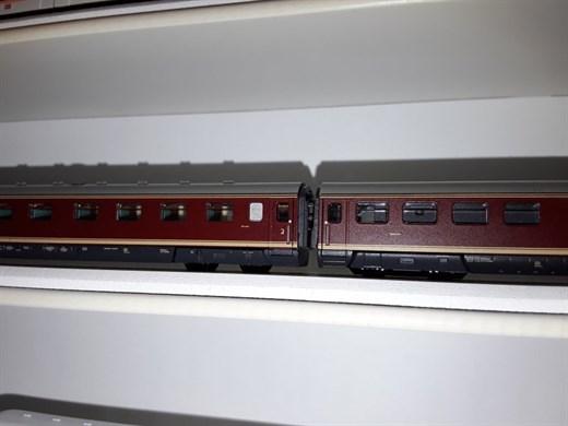 RATIMO 16028 - Wagenübergang VT 08 mit Stecker (Or
