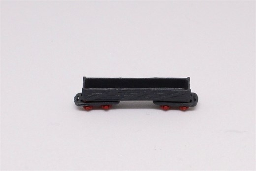 Saller 22605 - Holzkastenwagen m. 2 Drehgestellen
